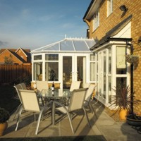 A Newark Glass Conservatory